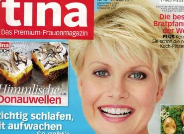 Premium-Frauenmagazin tina: März-Ausgabe 2015